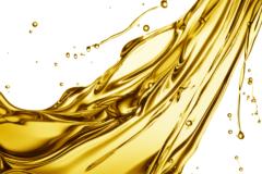 Wheel flange oils