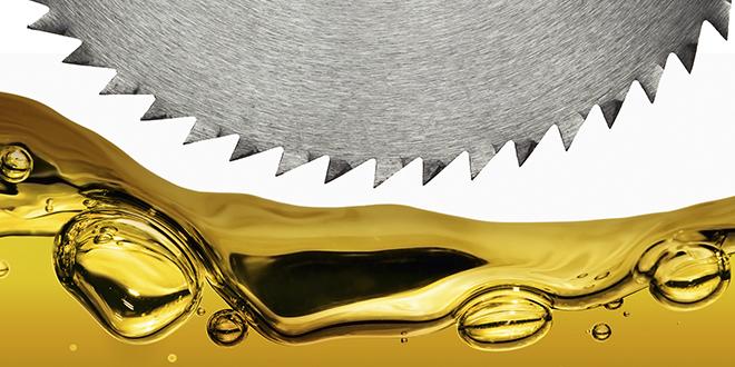 Saw blade oils