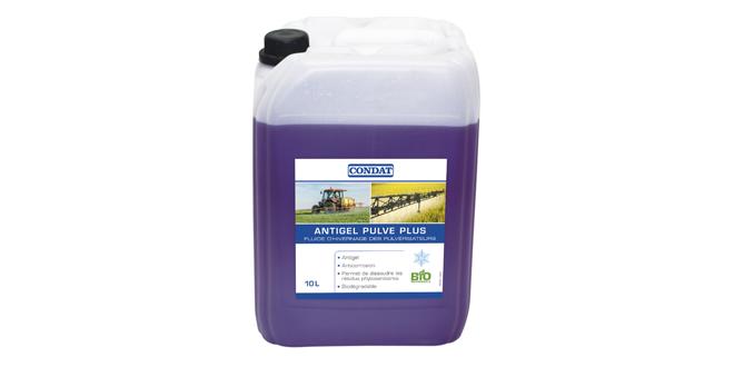 Overwintering fluid for sprayers