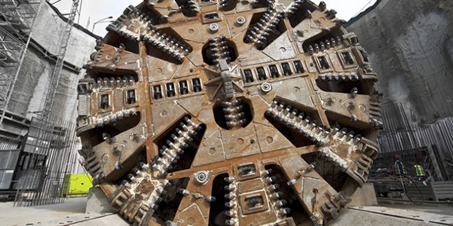 EPB tunnel boring machines