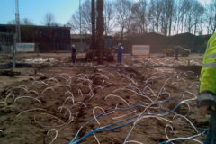 Waterproofing by soil injection
