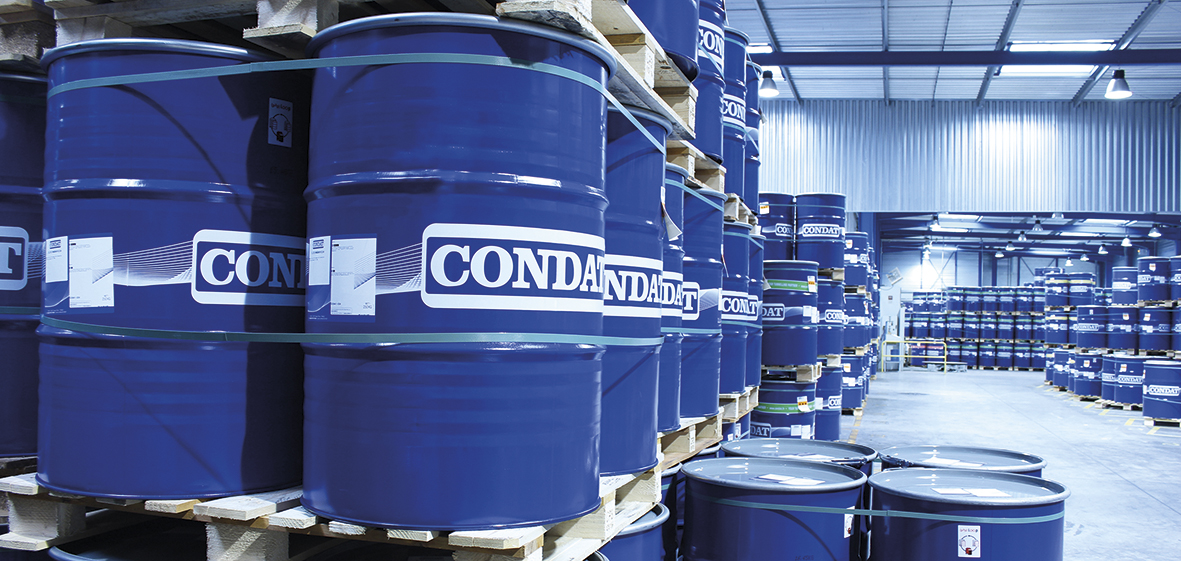 Storage facilities at CONDAT